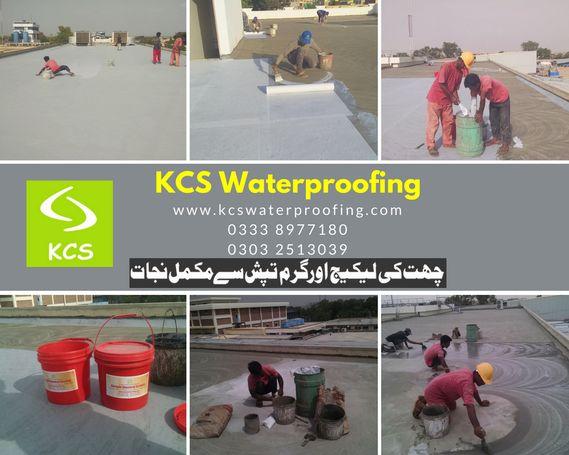 Roof Leakage Seepage Control Waterproofing Karachi Pakistan