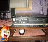 Fully Gaming Pc with Lcd speakers and mouse