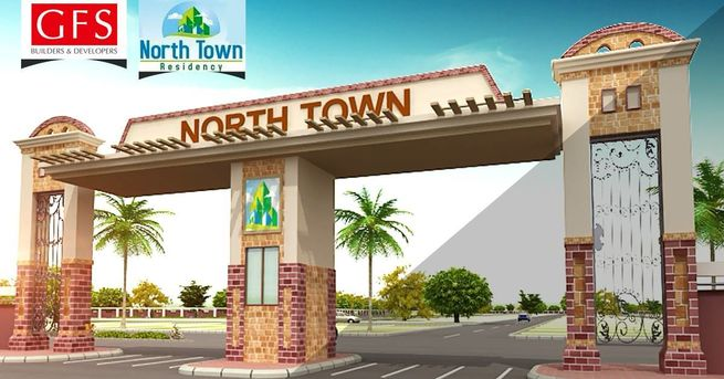 North Town Residency good location plot (Chance Deal)