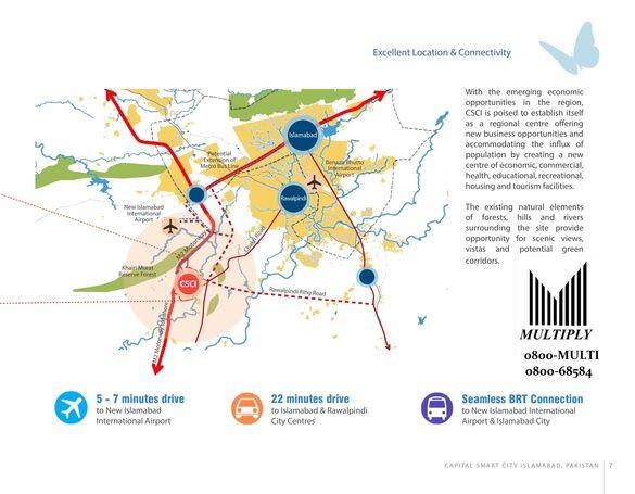 Capital Smart City (Booking Open) Islamabad