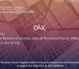 Accounts & Taxation - Corporate Training (50% off - 14th August & Eid)