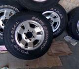 5 Toyota Rim and Tyres