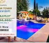 Bahria Town Phase 8 Ext Plots available at 10 lac