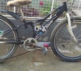 Bicycle colour black