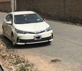 Toyota crolla XLI 2018