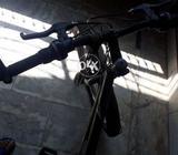 Black colour bicycle