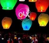 Beautiful sky lanterns