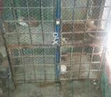 Cage for sale 4 by 4 size ha 4 khany hy 1 khana 2 by 2 ka bna hiva ha