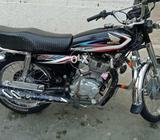Cg125 black colour