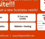 Website Development/ Business Emails