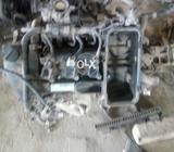 Toyota 1kr engine with manual gear