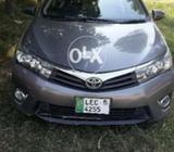 Toyota Corola GLI 2015 new shape