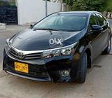 Toyota Corolla Gli 2015 Auto 1.3 in Black color