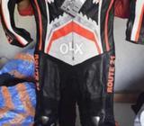 Lather jacket heavy bike