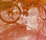 Engine bicycle