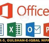 Learn MS Office in gulshan