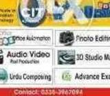 Learn Video Editing, Graphics, Web Des. by SIR AZMAT, Gulshan