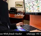 Skype Quran Classes ONline at home With Female Teacher anywhere