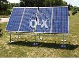 Solar Panel Electric Power Generation System Installation