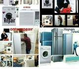 We Repairs Refrigerators Deep freezer washing machine microwave oven