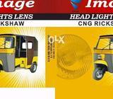 Cng rickshaw headlights lens