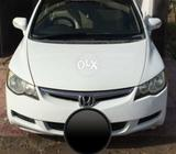 Honda Civic Manual Gear Sunroof Car