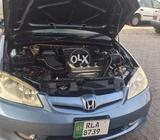 Want to sale Honda civic model 2005  number