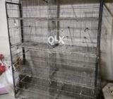 Cages, boxes and feed cleaner