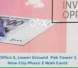 Beautiful residential plots in New City Ph 2 Wah Cantt