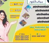 Size 5 Marla Plot, Sale Value 2750000 LAC, For Sale || H 13 ISB