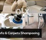 Pell sofa washing and dry clean home and office service