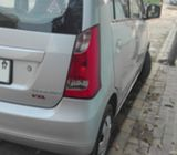 SUZUKI WAGON R VXL 2017 silver for sale