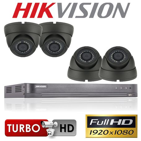 4 Camera Channel Kit in High Quality Full Turbo HD