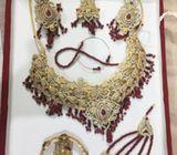 Indian Artificial Bridal Set