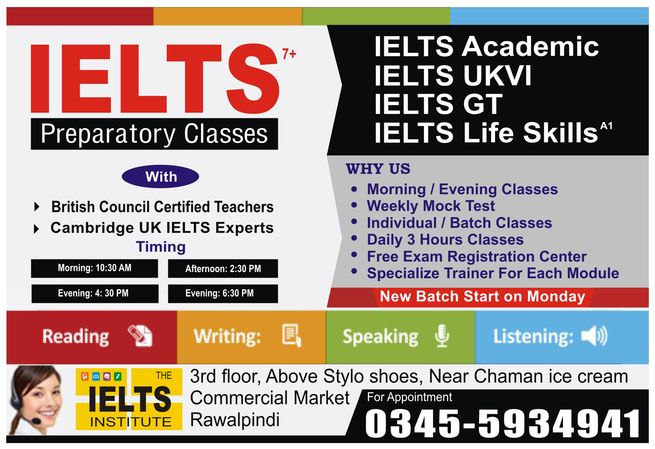 best IELTS Institute in Rawalpindi
