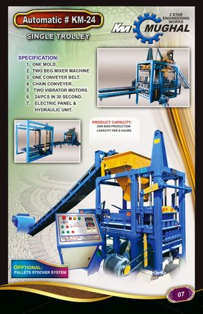 fly ash bricks and cement bricks plant