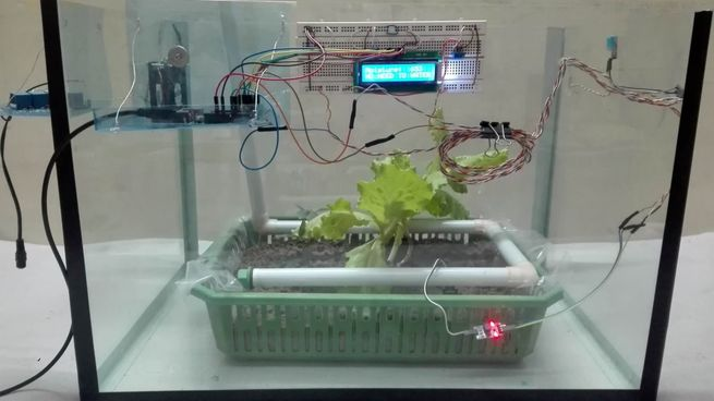 Final Year Project (FYP) Green House Automation