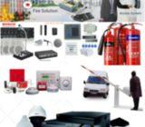 Cctv Camera & Fire Alarm