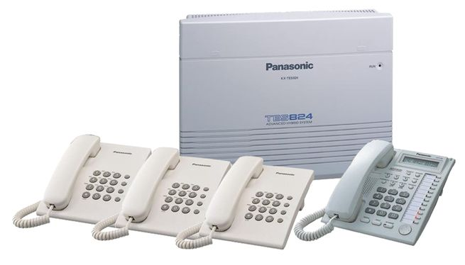 NEW PANASONIC PABX SYSTEM AVAILABLE, TES-824