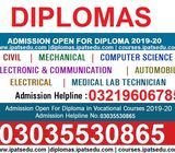 1 year and 2 year Punjab Government approved Diploma