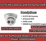 8 CCTV HD Camera Brand HIK Vision HD Resolution in Affordable Price