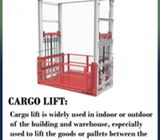 Cargo Lift For Lifting Heavy Weights