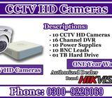 High Definition Resolution CCTV Cameras With DVR
