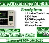 Time Attendance Machine For Managing Employees Attendance