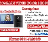 Branded Commax Video Door Phone Indoor And Outdoor Unit