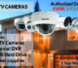 Package of 4 HD CCTV Cameras With Warranty
