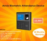 Biometric Attendance Device (Anviz) Available.
