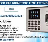 ZKTeco K40 Biometric Time Attendance