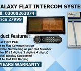 Galaxy New Digital Flat Intercom System In Karachi