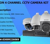 4 CCTV HD Cameras Available in Karachi With Best Rates